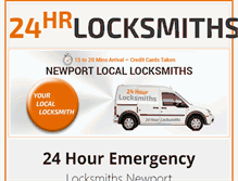 Tablet Preview of 24hr-locksmith-newport.co.uk